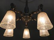 Original Art Deco Deckenlampe