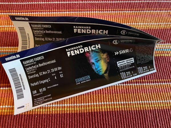 Rainhard Fendrich 02 11 2021