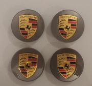 4x Porsche Nabendeckel Felgendeckel Nabenkappen