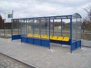 Bushaltestellen überdachte Warteräume spezielle Angebote