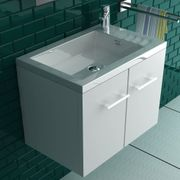 Alpenberger Badmöbel-Set Waschbecken und Unterschrank