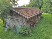 Holzstadel 9x4 5m Grundfläche