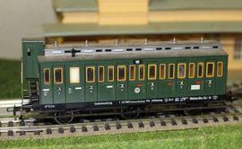 Bild 4 - 5092 Fleischmann DRG Abteilwagen 3-achs - Reinfeld
