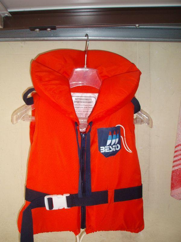 Rettungswesten - Sportschiffahrt - Ohnmachtsicher für Kinder