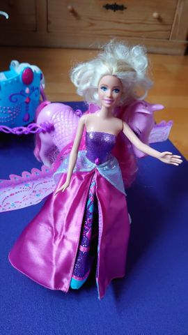 Puppen - Zwei Barbie Puppen Mariposa und
