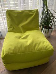 Sitzsack in grün