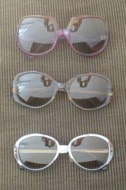 3 Original Vintage Sonnenbrillen aus