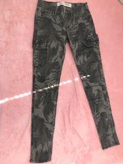 Kaki Skinny Jeans