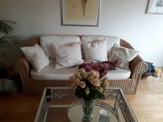Rattan Couch für Terrasse oder