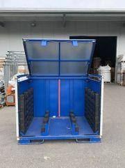 Lagerbehälter aus Stahl bei Ingolstadt