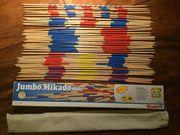 Jumbo-Mikado Riesen-Mikado Simba Holz Geschicklichkeitsspiel