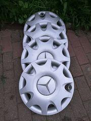 4x original Mercedes-Benz Radrappe gut
