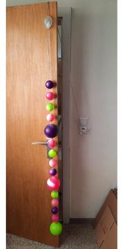 Kugel Lichterkette bunt von IKEA