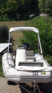 festrumpfschlauchboot rib Zodiac Cherokee 495