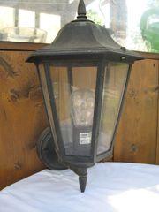 Haus- oder Gartenlauben Lampe schwarz