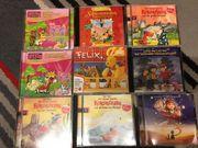 Viele verschiedene Kinder Hörspiel CDs
