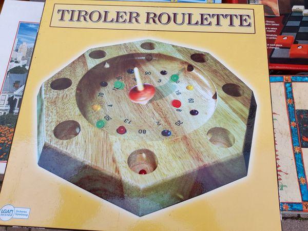 Tiroler Roulette Massiv-Holz