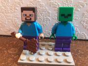 LEGO MINECRAFT Figuren Steve und