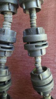D-Schlauchkupplung mit Schlauchtüllen Kupplung D-Rohr
