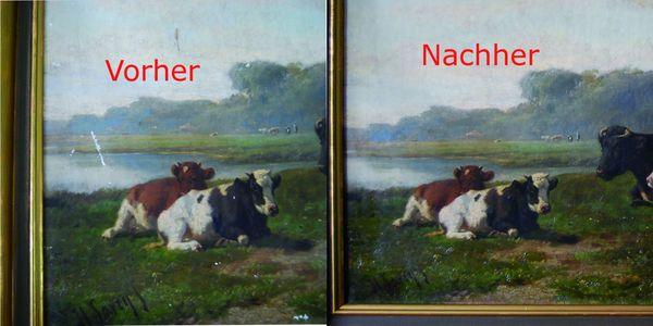 Restauration alter Öl-Gemälde