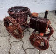 Weide handgemachter Traktor 45 cm