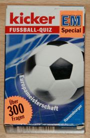 NEU - Fußball-Quiz - Kartenspiel für Fußball-Fans -