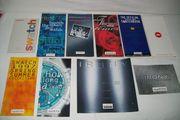 Swatch-Collectionshefte verschiedene Jahrgänge kpl