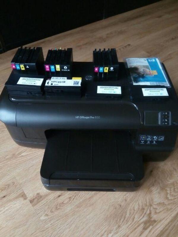 HP 8100 ePrinter N811a - Officejet