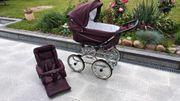 Emmaljunga Kinderwagen Chassi De Luxe