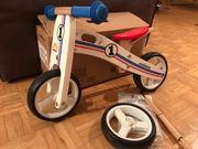Mini Laufrad Holz mit 3