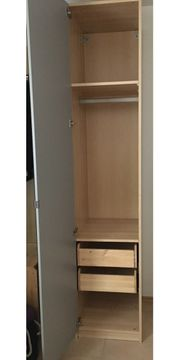IKEA PAX Kleiderschrank mit Spiegelfront