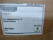 NEU OVP 5x Wieninger® Taschenfilter
