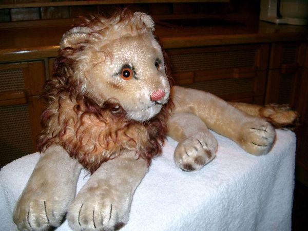 Steiff Löwe ca 55 Jahre