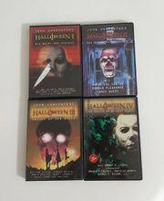 HALLOWEEN 1-4 DVDs