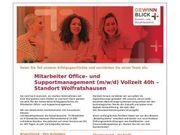 Mitarbeiter Office- und Supportmanagement m