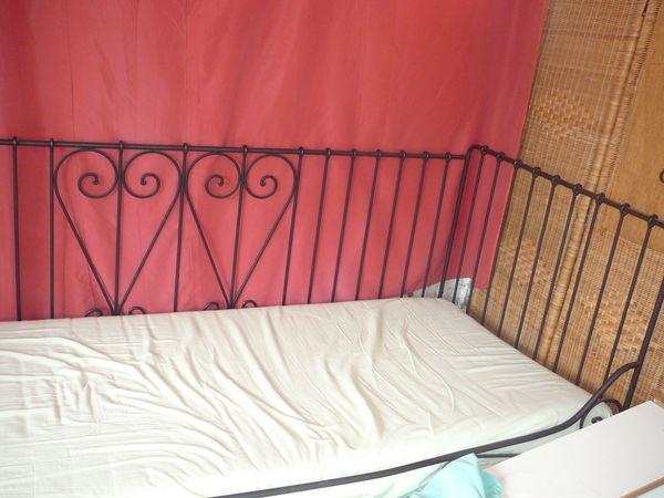 IKEA Metallbett MELDAL Tagesbett Bett