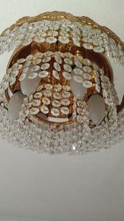 Deckenlampe Kristalle Swarovski