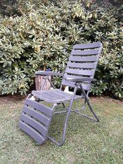 Gartenliege-Stuhl