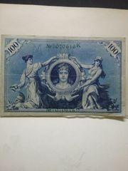 Reichsbanknote 1908
