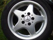 4 Mercedes Alu Felgen 55