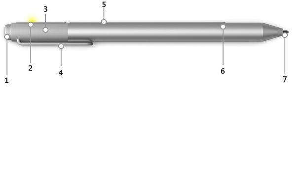 Microsoft Surface Pen Stylus Stift