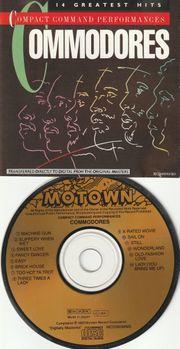 80 s CD Album - Commodores -