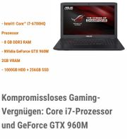 ASUS GL552VW High-End-Notebook f