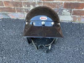 Motorrad-Helme, Protektoren - 1975 Vintage Bell Magnum 3
