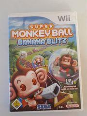 WII Spiel Monkey Ball