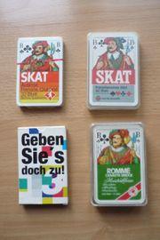Diverse Kartenspiele