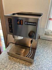 Rancilio Silvia 1100W Espressomaschine Silber