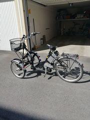 E- Dreirad Fahrrad