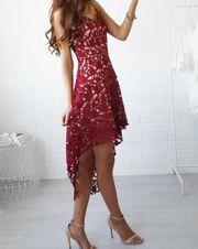 Schönes Patchwork Kleid NEU