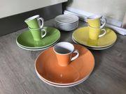 Geschirr von Seltmann Weiden 3-farbig